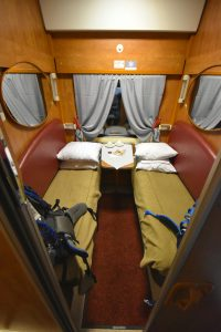 First class in Trans-Siberian train 030HA.