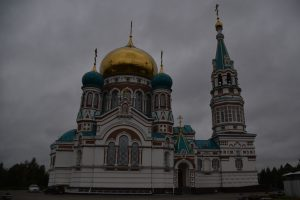 Russian-Orthodox church in Omsk.