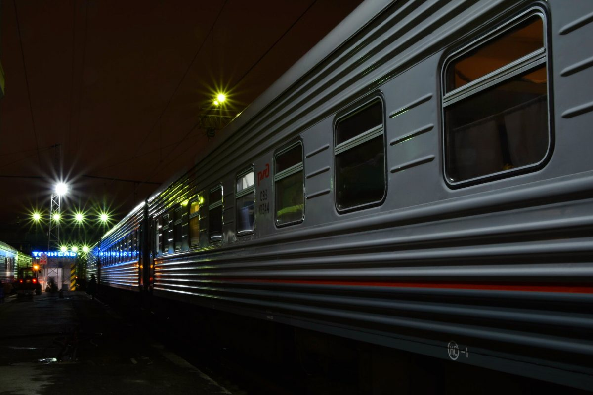 Train 030HA between Perm and Omsk.