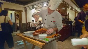 Peking duck at Siji Minfu in Beijing
